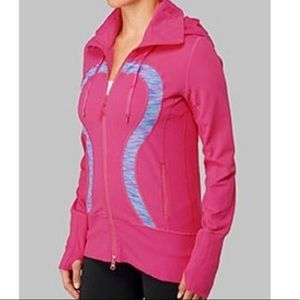 Lululemon got pink stride jacket